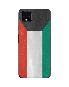 Kuwait Flag Distressed Google Pixel 4 XL Skin