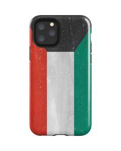 Kuwait Flag Distressed iPhone 11 Pro Impact Case