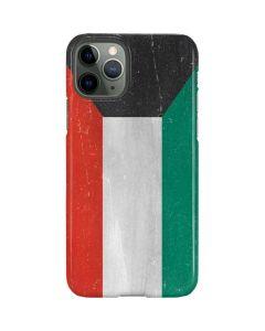 Kuwait Flag Distressed iPhone 11 Pro Lite Case