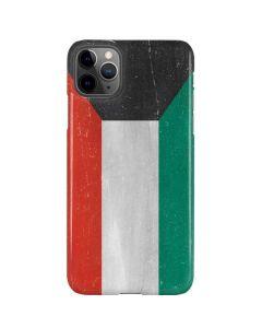 Kuwait Flag Distressed iPhone 11 Pro Max Lite Case