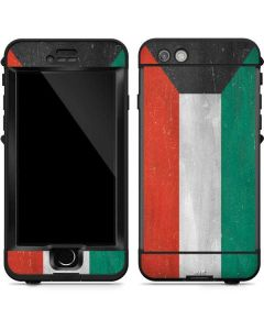 Kuwait Flag Distressed LifeProof Nuud iPhone Skin