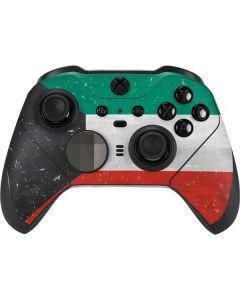 Kuwait Flag Distressed Xbox Elite Wireless Controller Series 2 Skin