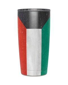 Kuwait Flag Distressed Yeti 20oz Tumbler Skin