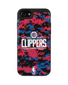 LA Clippers Digi Camo iPhone SE Wallet Case
