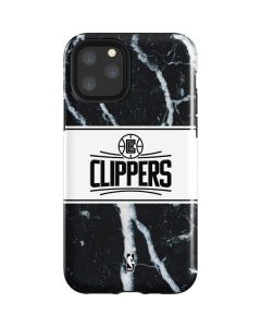 LA Clippers Marble iPhone 11 Pro Impact Case