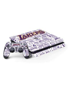 LA Lakers Historic Blast PS4 Slim Bundle Skin