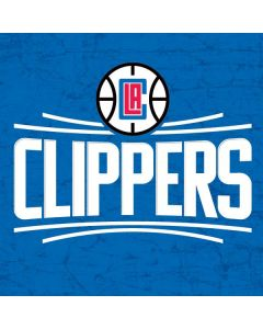 Los Angeles Clippers Distressed Blue iPhone X Pro Case