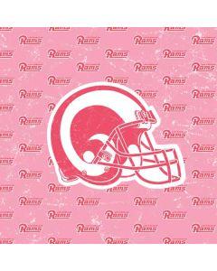 Los Angeles Rams Pink Logo Blast Apple TV Skin