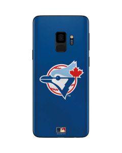 Large Vintage Blue Jays Galaxy S9 Skin