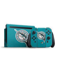 Large Vintage Marlins Nintendo Switch Bundle Skin