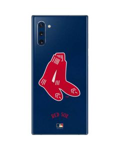 Large Vintage Red Sox Galaxy Note 10 Skin