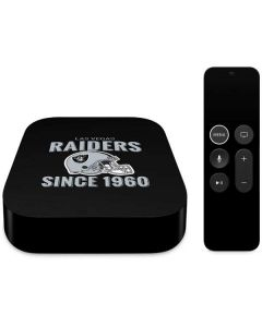 Las Vegas Raiders Helmet Apple TV Skin