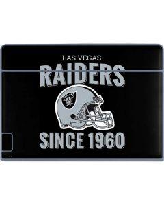 Las Vegas Raiders Helmet Galaxy Book Keyboard Folio 12in Skin