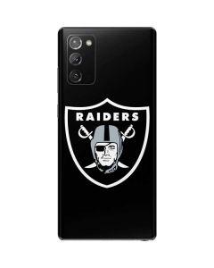 Las Vegas Raiders Large Logo Galaxy Note20 5G Skin