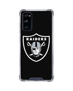Las Vegas Raiders Large Logo Galaxy S20 FE Clear Case