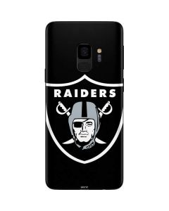 Las Vegas Raiders Large Logo Galaxy S9 Skin