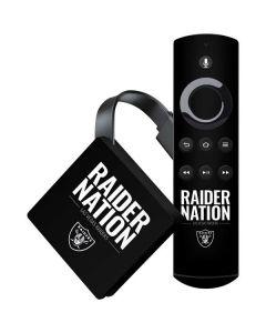 Las Vegas Raiders Team Motto Amazon Fire TV Skin