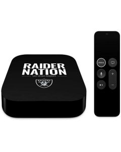 Las Vegas Raiders Team Motto Apple TV Skin