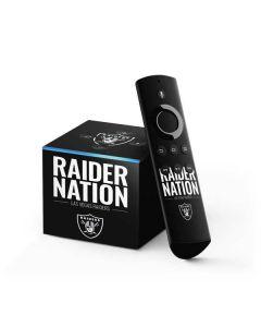 Las Vegas Raiders Team Motto Fire TV Cube Skin