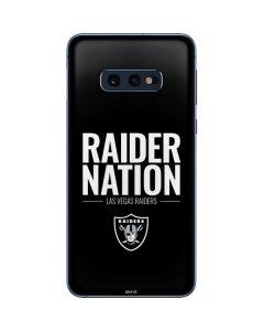 Las Vegas Raiders Team Motto Galaxy S10e Skin