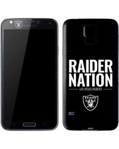Las Vegas Raiders Team Motto Galaxy S5 Skin