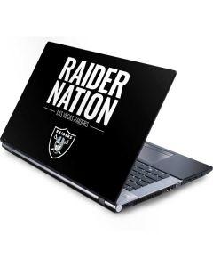 Las Vegas Raiders Team Motto Generic Laptop Skin