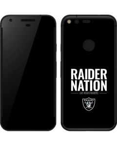 Las Vegas Raiders Team Motto Google Pixel XL Skin