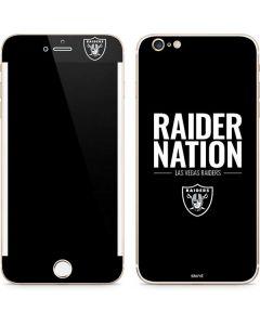 Las Vegas Raiders Team Motto iPhone 6/6s Plus Skin