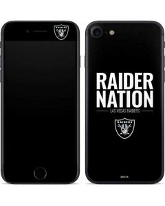 Las Vegas Raiders Team Motto iPhone 7 Skin