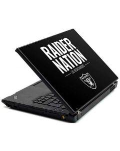 Las Vegas Raiders Team Motto Lenovo T420 Skin