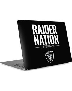 Las Vegas Raiders Team Motto Apple MacBook Air Skin