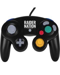 Las Vegas Raiders Team Motto Nintendo GameCube Controller Skin