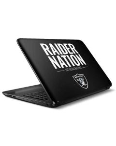Las Vegas Raiders Team Motto HP Notebook Skin
