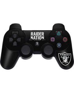 Las Vegas Raiders Team Motto PS3 Dual Shock wireless controller Skin