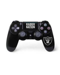 Las Vegas Raiders Team Motto PS4 Pro/Slim Controller Skin