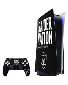Las Vegas Raiders Team Motto PS5 Bundle Skin