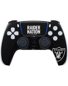 Las Vegas Raiders Team Motto PS5 Controller Skin