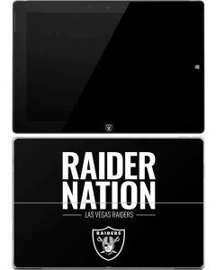Las Vegas Raiders Team Motto Surface 3 Skin