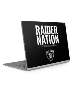 Las Vegas Raiders Team Motto Surface Book 2 15in Skin
