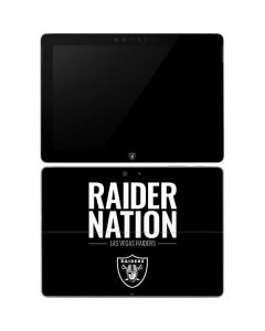 Las Vegas Raiders Team Motto Surface Go Skin