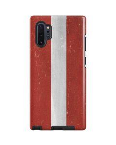 Latvia Flag Distressed Galaxy Note 10 Plus Pro Case