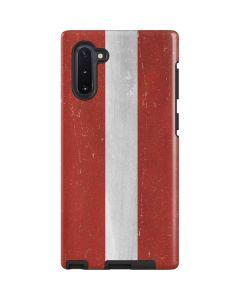 Latvia Flag Distressed Galaxy Note 10 Pro Case