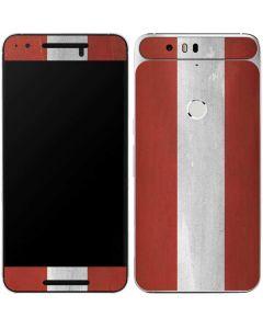 Latvia Flag Distressed Google Nexus 6P Skin