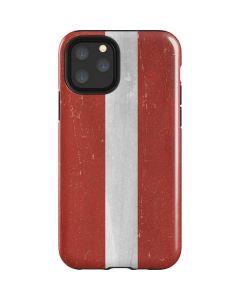 Latvia Flag Distressed iPhone 11 Pro Impact Case