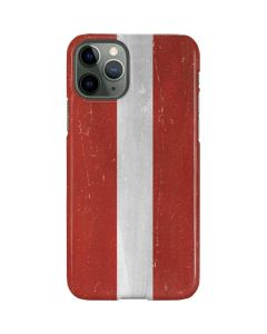 Latvia Flag Distressed iPhone 11 Pro Lite Case