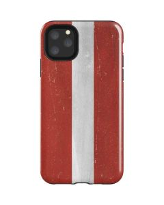 Latvia Flag Distressed iPhone 11 Pro Max Impact Case