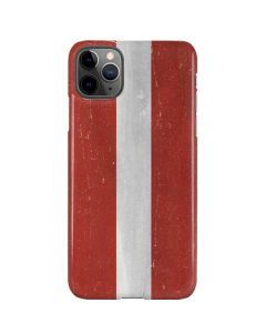 Latvia Flag Distressed iPhone 11 Pro Max Lite Case