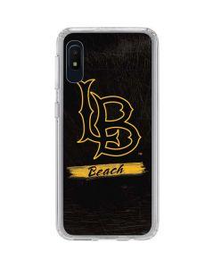 LB Beach Black Galaxy A10e Clear Case