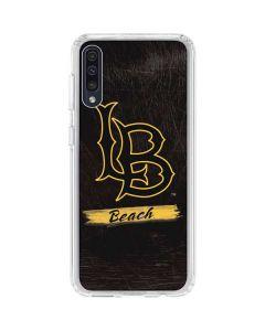 LB Beach Black Galaxy A50 Clear Case