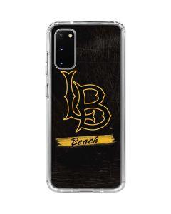 LB Beach Black Galaxy S20 Clear Case